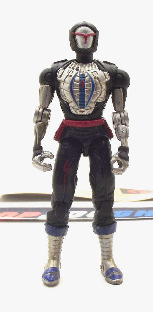 2002 GVC G.I. JOE COBRA B.A.T. BAT V3 BATTLE ANDROID TROOPER LOOSE 100% COMPLETE + F/C