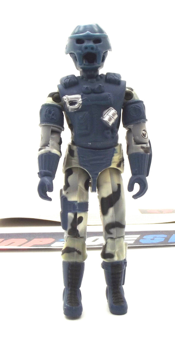 2002 GVC G.I. JOE COBRA ALLEY VIPER V5 URBAN ASSAULT TROOPER LOOSE 100% COMPLETE + F/C