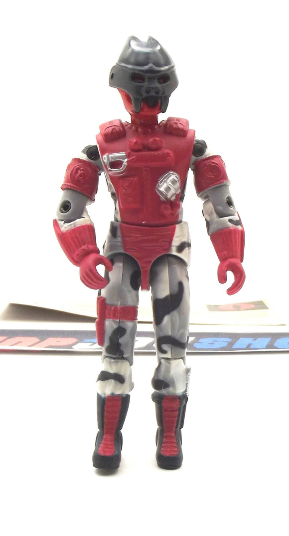 2002 GVC G.I. JOE COBRA ALLEY VIPER V6 URBAN ASSAULT TROOPER LOOSE 100% COMPLETE + F/C