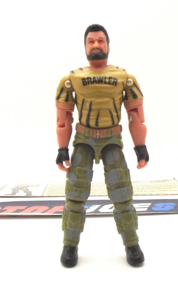 2003 GVC G.I. JOE BIG BRAWLER V2 TIGER FORCE TRU EXCLUSIVE LOOSE 100% COMPLETE + F/C BLACK HAIR VARIANT