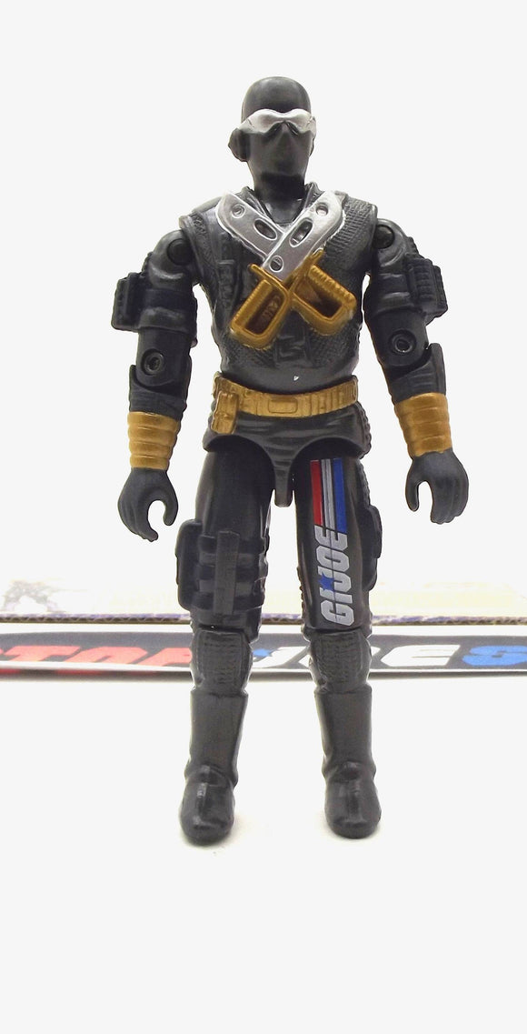 2002 GVC G.I. JOE SNAKE EYES V12 COMMANDO FRED MEYER EXCLUSIVE LOOSE 100% COMPLETE + F/C