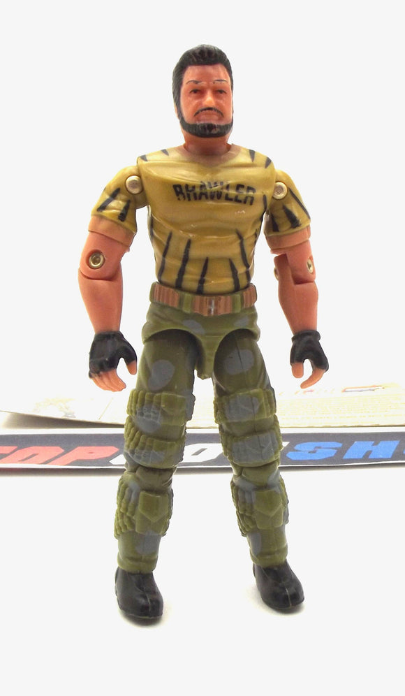2003 GVC G.I. JOE BIG BRAWLER V2 TIGER FORCE TRU EXCLUSIVE LOOSE 100% COMPLETE + F/C BLACK HAIR VARIANT - SOME PAINT WEAR