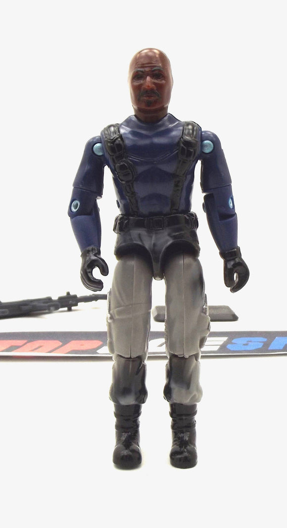 2002 GVC G.I. JOE ROADBLOCK V8 ARMY MACHINE GUNNER FRED MEYER EXCLUSIVE LOOSE 100% COMPLETE NO FILE CARD