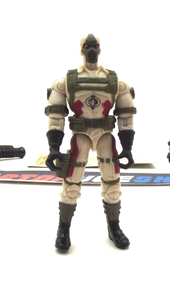 2003 GVC G.I. JOE COBRA DESERT C.L.A.W.S. CLAWS V2 SPY TROOPS HEAVY WEAPONS TROOPER LOOSE 100% COMPLETE + F/C