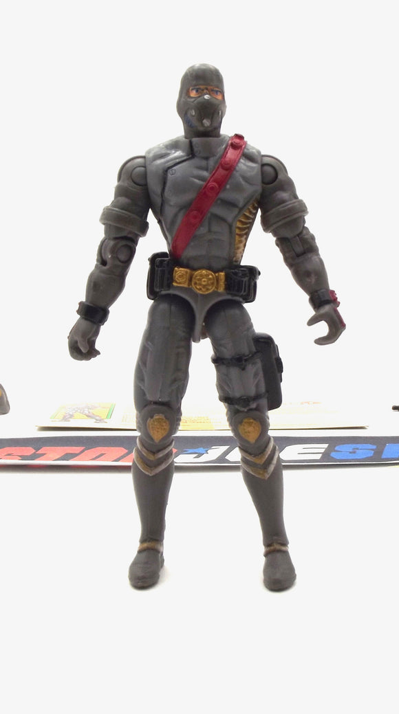 2003 GVC G.I. JOE COBRA IRON GRENADIER V3 SPY TROOPS ELITE TROOPERS OF DESTRO LOOSE 100% COMPLETE + F/C