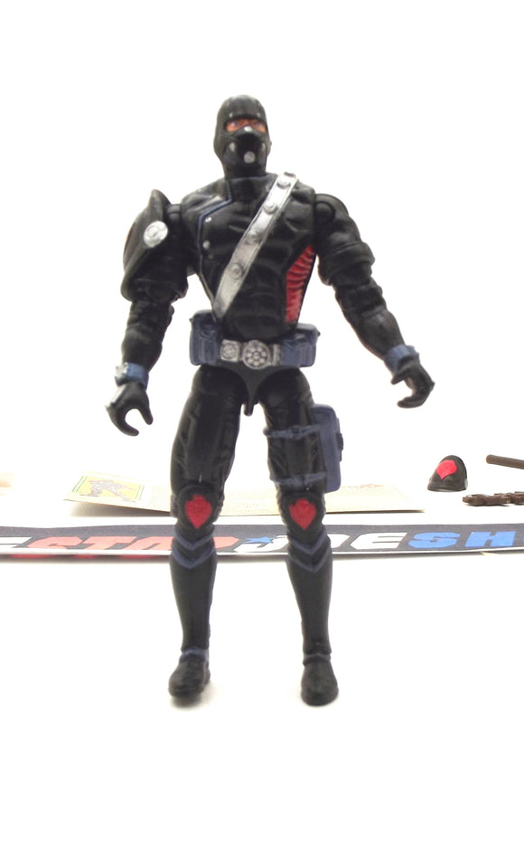 2003 GVC G.I. JOE COBRA IRON GRENADIER V2 SPY TROOPS ELITE TROOPERS OF DESTRO LOOSE 100% COMPLETE + F/C