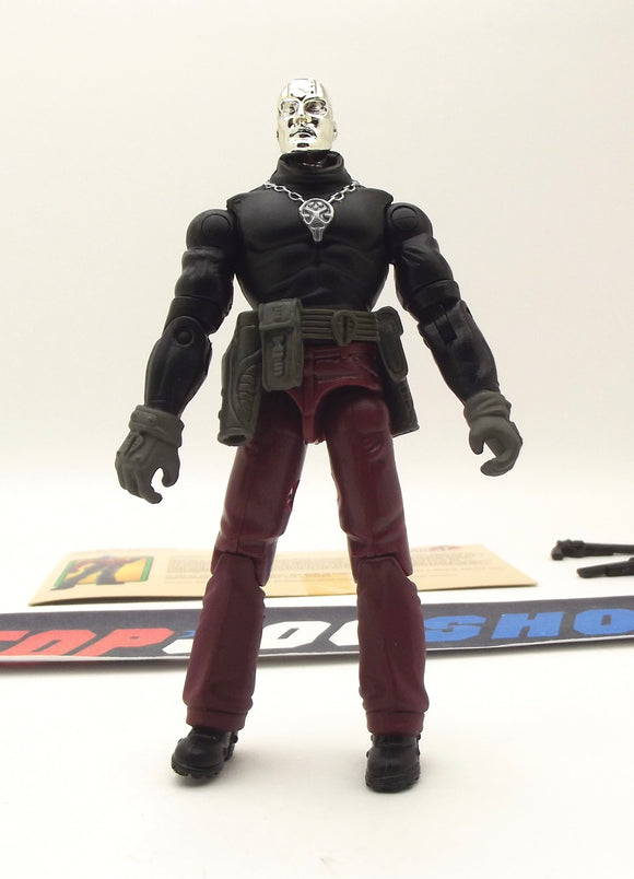 2003 GVC G.I. JOE COBRA DESTRO V11 SPY TROOPS WEAPONS SUPPLIER LOOSE 100% COMPLETE + F/C