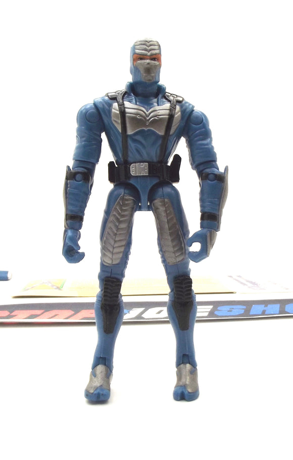 2003 GVC G.I. JOE COBRA NIGHT CREEPER V5 SPY TROOPS NINJA LOOSE 100% COMPLETE + F/C