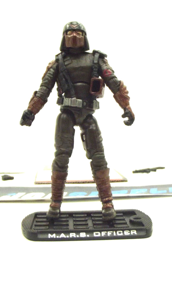 2009 ROC G.I. JOE M.A.R.S. INDUSTRIES WEAPONS OFFICER V1 K-MART EXCLUSIVE LOOSE 100% COMPLETE + F/C