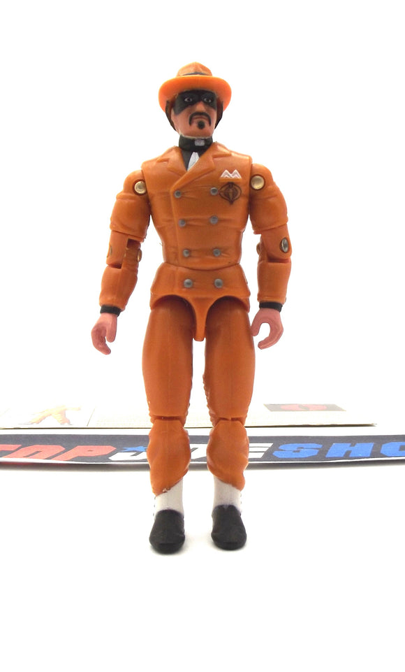 2002 GVC G.I. JOE COBRA HEADMAN V2 INTERNATIONAL SMUGGLER LOOSE 100% COMPLETE + F/C