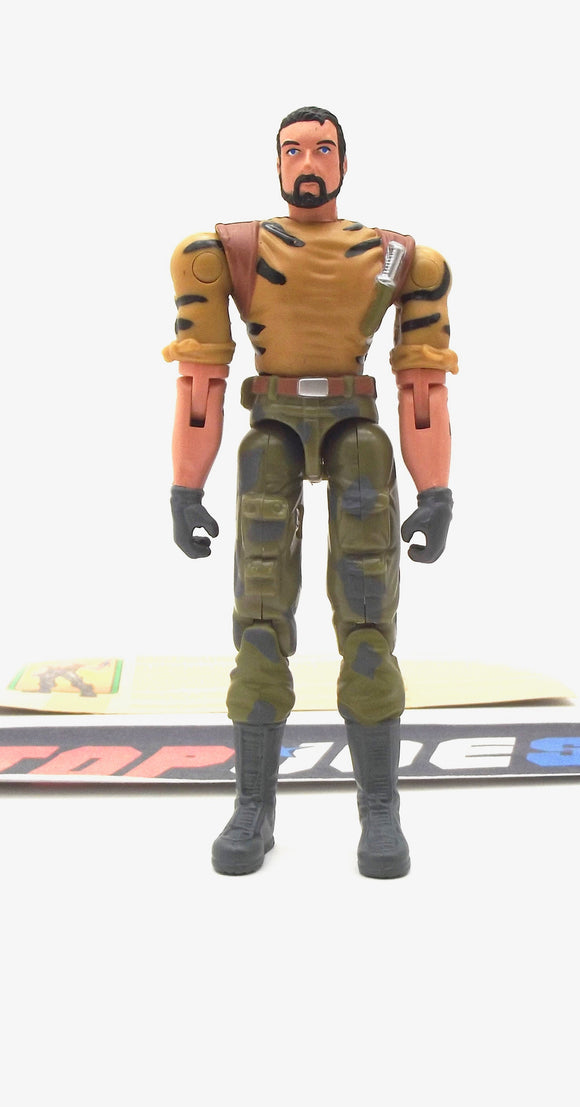 2003 GVC G.I. JOE BIG BRAWLER V3 SPY TROOPS JUNGLE MISSION SPECIALIST LOOSE 100% COMPLETE + F/C