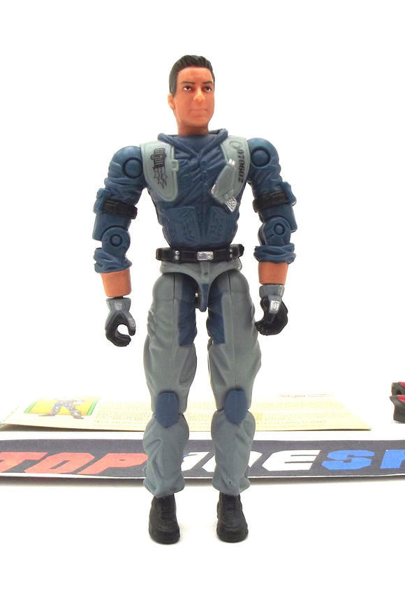2003 GVC G.I. JOE BARREL ROLL V1 SPY TROOPS HIGH ALTITUDE SNIPER LOOSE 100% COMPLETE + F/C