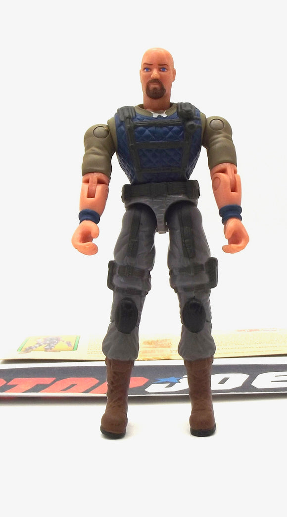 2003 GVC G.I. JOE GUNG HO V11 SPY TROOPS MARINE LOOSE 100% COMPLETE + F/C BROWN GOATEE VARIANT