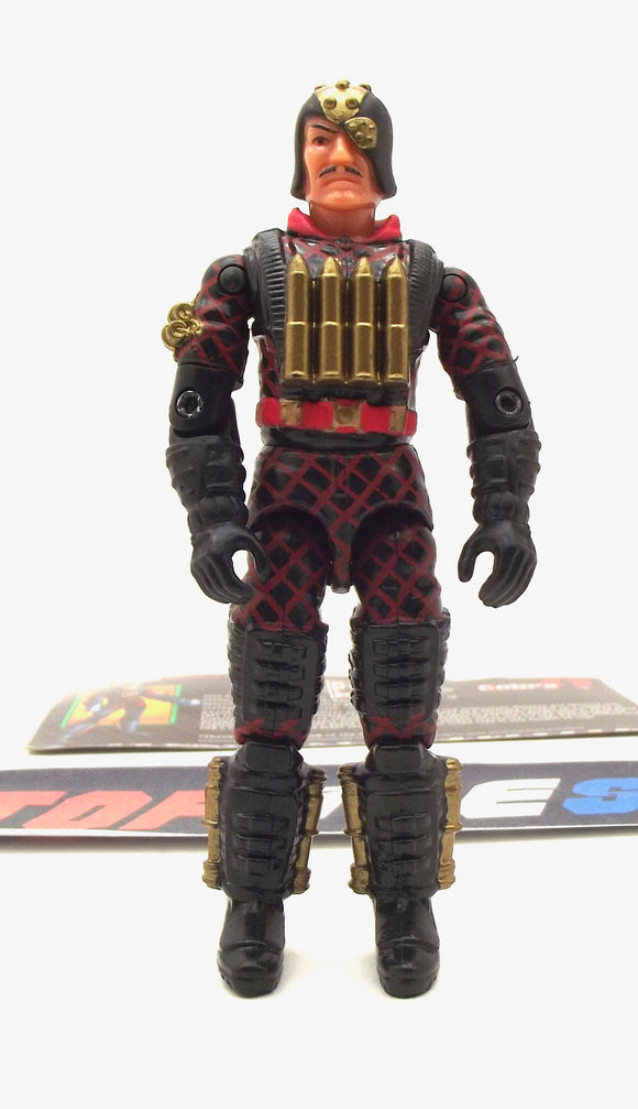 2003 GVC G.I. JOE COBRA MAJOR BLUDD V5 PYTHON PATROL MERCENARY TRU EXCLUSIVE LOOSE 100% COMPLETE + F/C
