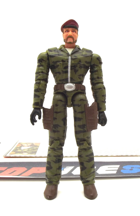 2006 DTC G.I. JOE COLTON V2 STRATEGIC AND TACTICAL OPERATIONS VIPER LOCKDOWN SET LOOSE 100% COMPLETE + F/C