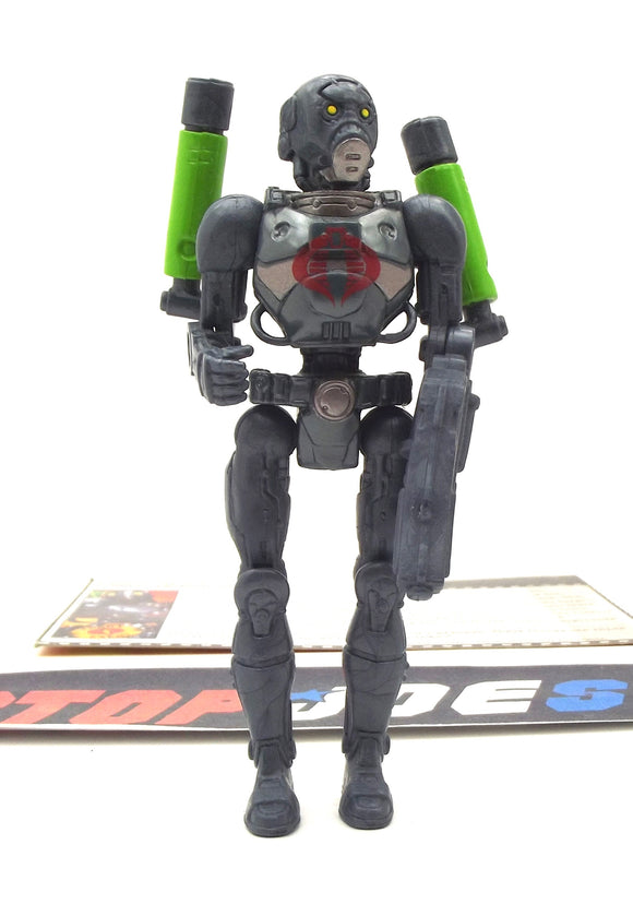 2005 DTC G.I. JOE COBRA B.A.T. BAT v5 (V16) ANDROID TROOPER BAT ATTACK SET LOOSE 100% COMPLETE + F/C - 2 ARMS/LEFT GUN