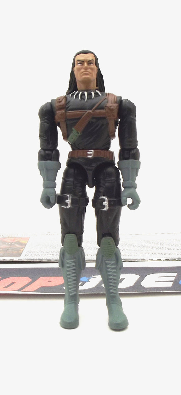 2006 DTC G.I. JOE SPIRIT IRON-KNIFE V2 TRACKER COMIC PACK LOOSE 100% COMPLETE + F/C
