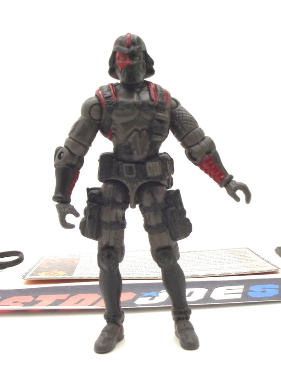 2006 DTC G.I. JOE COBRA GALLOWS V1 PLAGUE TROOPER PLAGUE TROOPERS VS. STEEL BRIGADE SET LOOSE 100% COMPLETE + F/C