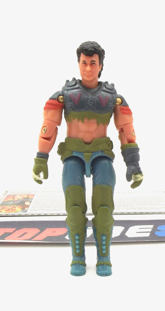 2005 DTC G.I. JOE DREADNOK THRASHER V3 DREADNOK COMIC PACK LOOSE 100% COMPLETE + F/C