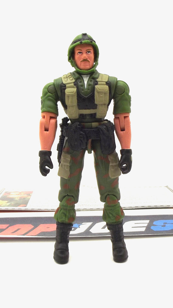 2005 DTC G.I. JOE FOOTLOOSE V3 INFANTRY TROOPER LOOSE 100% COMPLETE + F/C