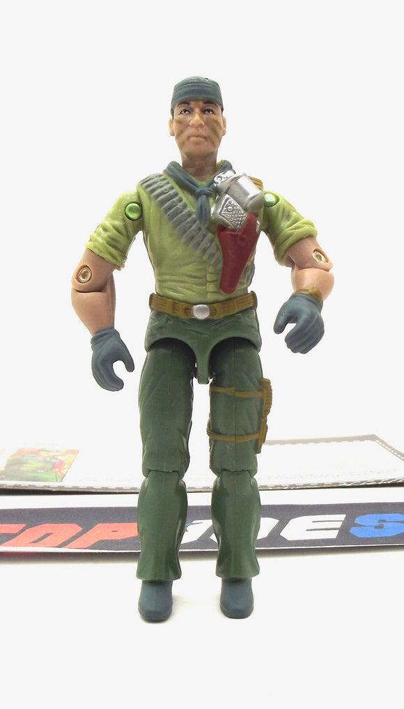 2005 DTC G.I. JOE TUNNEL RAT V9 EXPLOSIVES EXPERT COMIC PACK LOOSE 100% COMPLETE + F/C