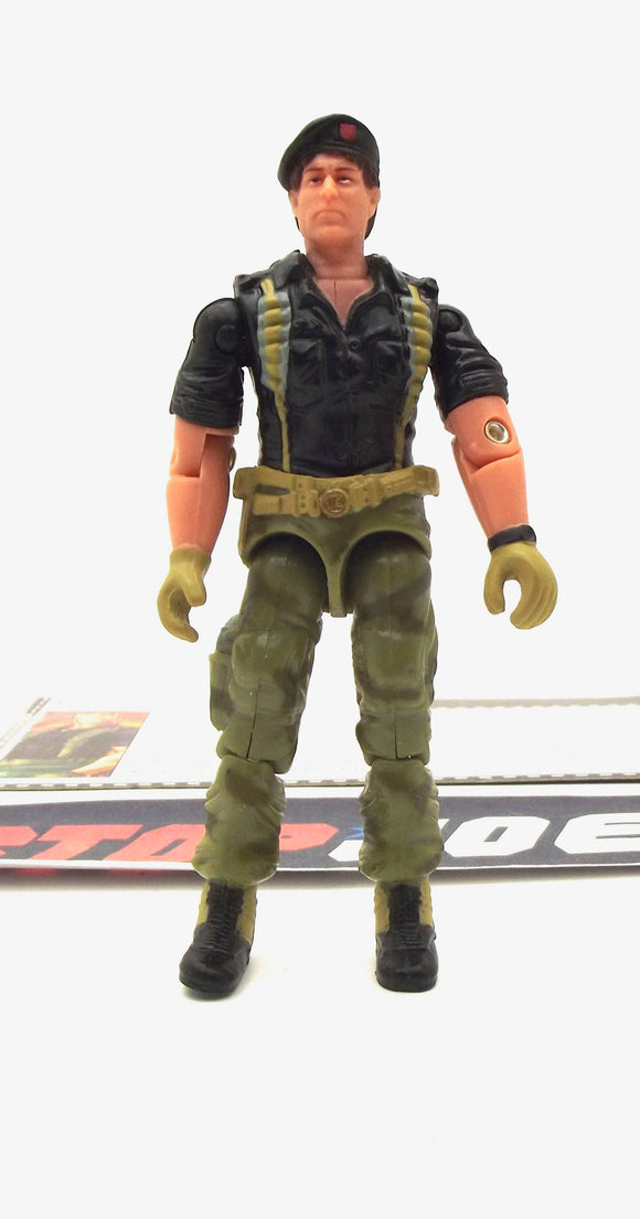 2005 DTC G.I. JOE FLINT V10 WARRANT OFFICER COMIC PACK LOOSE 100% COMPLETE + F/C