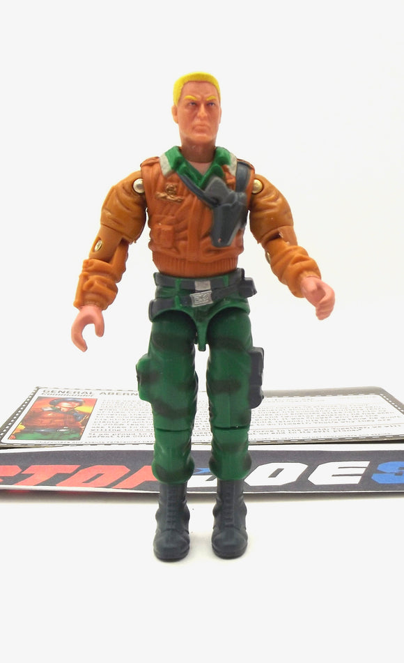 2005 DTC G.I. JOE GENERAL ABERNATHY HAWK V3 COMMANDER COMIC PACK 100% COMPLETE + F/C