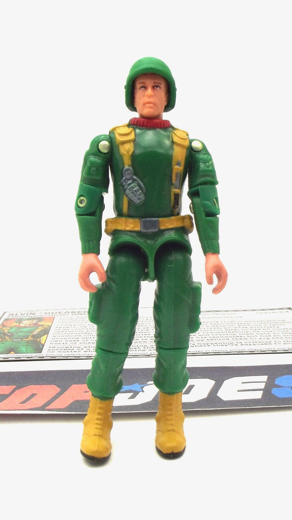 2005 DTC G.I. JOE BREAKER V3 COMMUNICATIONS OFFICER COMIC PACK LOOSE 100% COMPLETE + F/C
