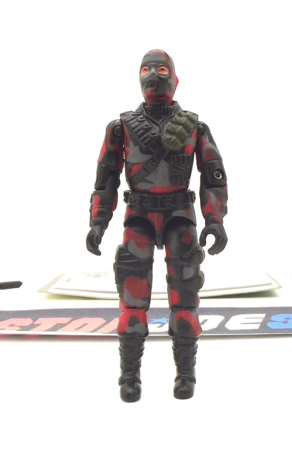 2005 VVV G.I. JOE COBRA FIREFLY V13 SABOTEUR CRIMSON GUARD FORCE TRU EXCLUSIVE LOOSE 100% COMPLETE + F/C