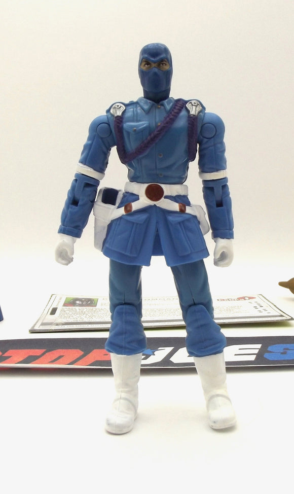 2005 VVV G.I. JOE COBRA COMMANDER V20 COMMANDER OF COBRA FORCES LOOSE 100% COMPLETE + F/C