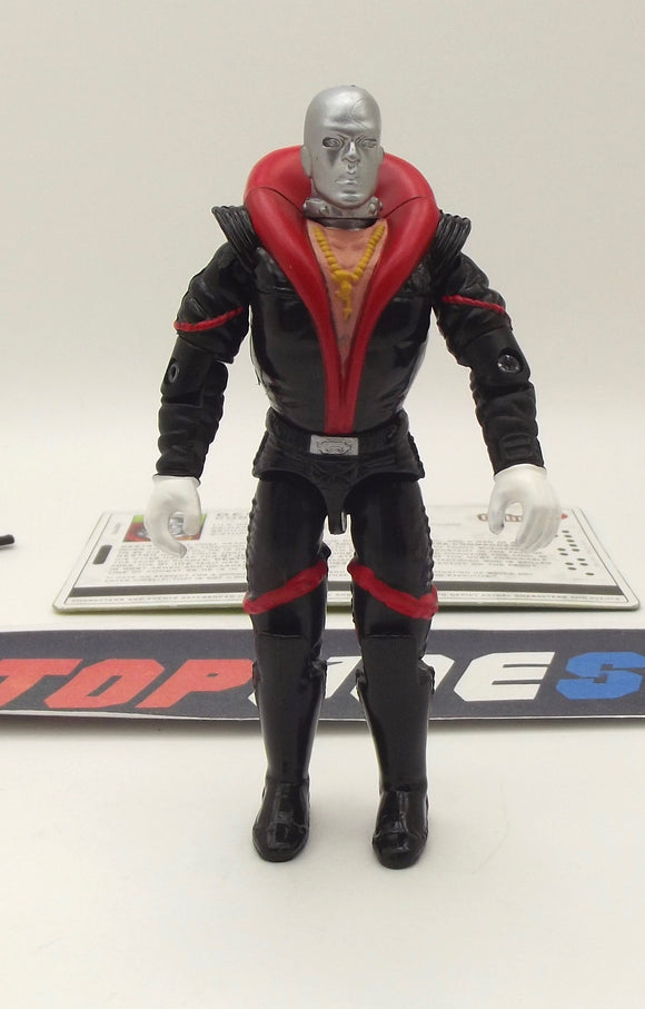 2005 VVV G.I. JOE COBRA DESTRO V12 WEAPONS SUPPLIER COMIC PACK LOOSE 100% COMPLETE + F/C