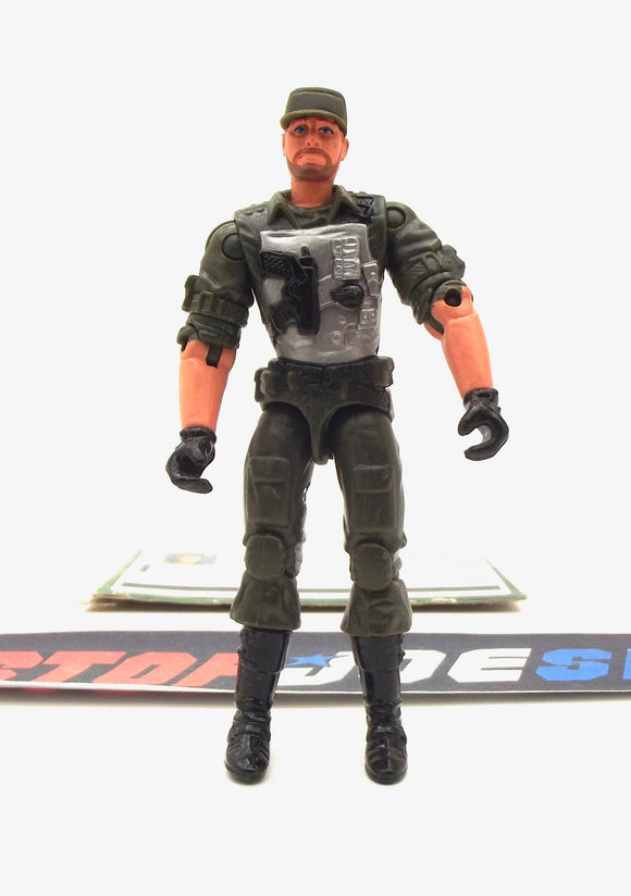 2004 VVV G.I. JOE DOUBLE CLUTCH V1 DESERT COYOTE VEHICLE DRIVER LOOSE 100% COMPLETE + F/C