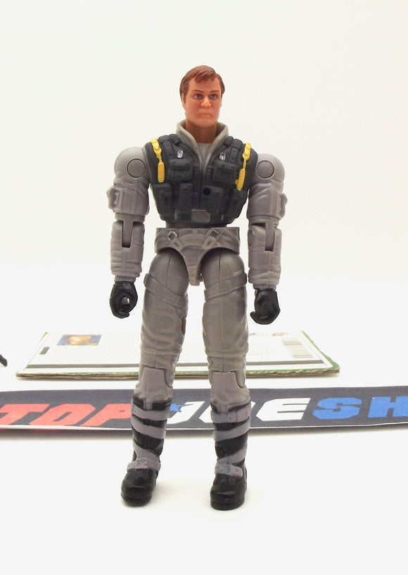 2004 VVV G.I. JOE ACE V6 FIGHTER PILOT LOOSE 100% COMPLETE + F/C