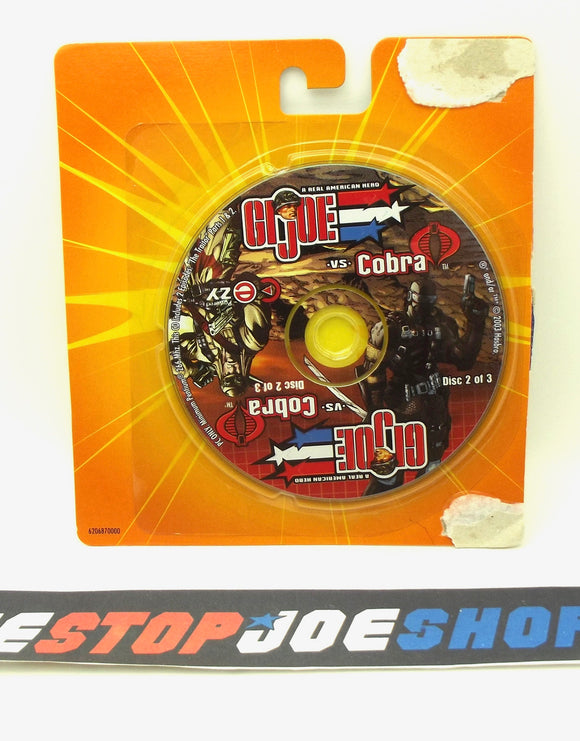 2003 G.I. JOE VS. COBRA SPY TROOPS MISSION DISC 2 OF 3 CD-ROM PC COMPUTER GAME NEW SEALED - SNAKE EYES / DUSTY