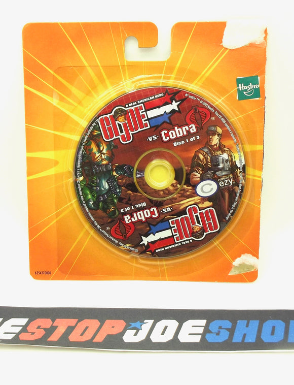 2003 G.I. JOE VS. COBRA SPY TROOPS MISSION DISC 1 OF 3 CD-ROM PC COMPUTER GAME NEW SEALED - BEACHHEAD / RECONDO
