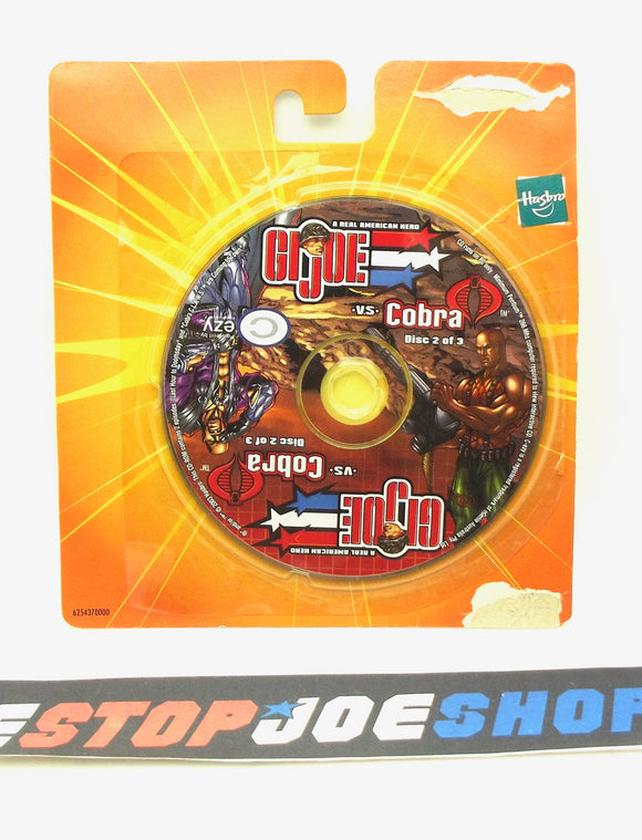 2003 G.I. JOE VS. COBRA SPY TROOPS MISSION DISC 2 OF 3 CD-ROM PC COMPUTER GAME NEW SEALED - ROADBLOCK / DR. MINDBENDER
