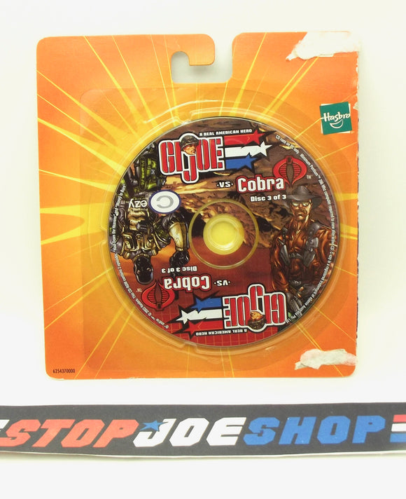 2003 G.I. JOE VS. COBRA SPY TROOPS MISSION DISC 3 OF 3 CD-ROM PC COMPUTER GAME NEW SEALED - WILD BILL / FIREFLY