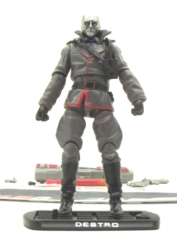 2009 ROC G.I. JOE COBRA DESTRO V23 LOOSE 100% COMPLETE + F/C