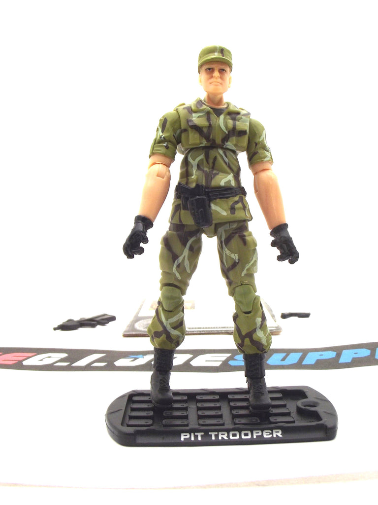 2009 ROC G.I. JOE PIT TROOPER V1 ATTACK ON THE PIT PACK TRU EXCLUSIVE LOOSE 100% COMPLETE + F/C