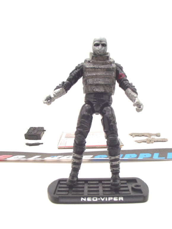 2009 ROC G.I. JOE COBRA NEO-VIPER V9 ATTACK ON THE PIT PACK TRU EXCLUSIVE LOOSE 100% COMPLETE + F/C