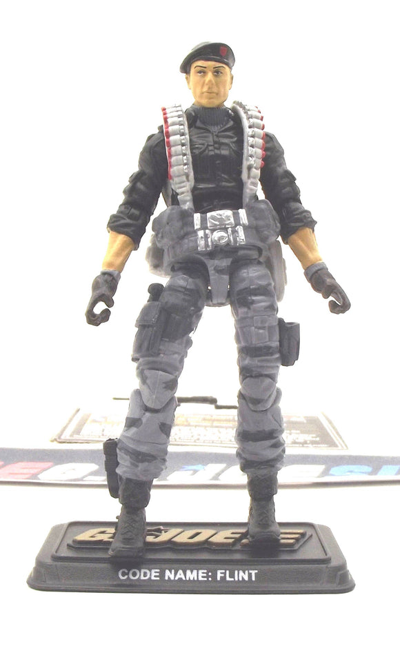 2014 50TH ANNIV G.I. JOE FLINT V23B DANGER AT THE DOCKS PACK V.A.M.P. MK-II DRIVER LOOSE 100% COMPLETE + F/C