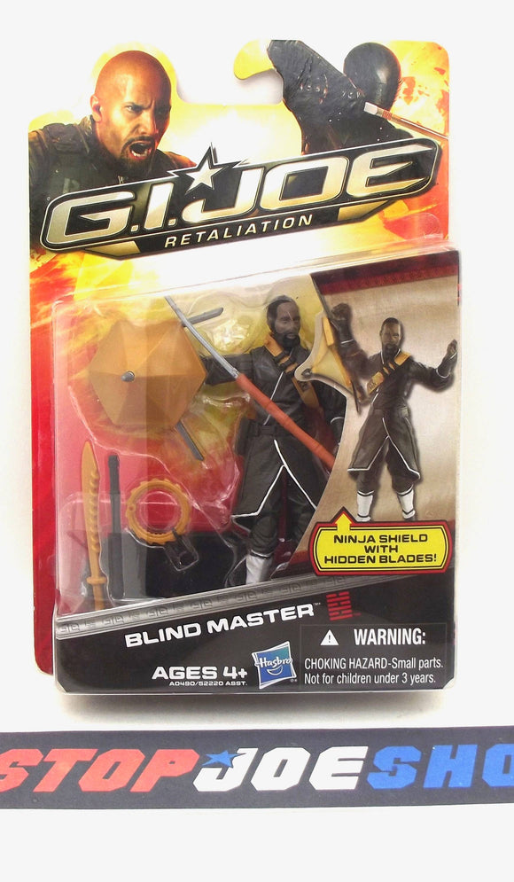 2013 RETALIATION G.I. JOE BLIND MASTER V1 NEW SEALED