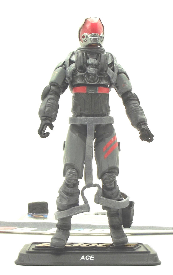 2015 50TH ANNIV G.I. JOE ACE V8 SILENT STRIKE PACK SKYSTRIKER PILOT LOOSE 100% COMPLETE + F/C