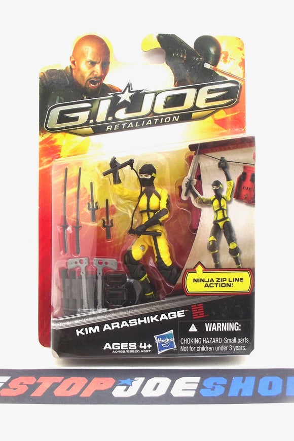 2013 RETALIATION G.I. JOE JINX V3 NEW SEALED