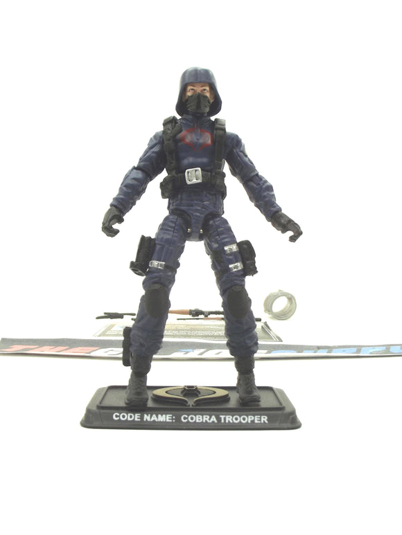 2014 50TH ANNIVERSARY G.I. JOE COBRA ENEMY TROOPER V15 THE VIPER'S PIT PACK LOOSE 100% COMPLETE + F/C