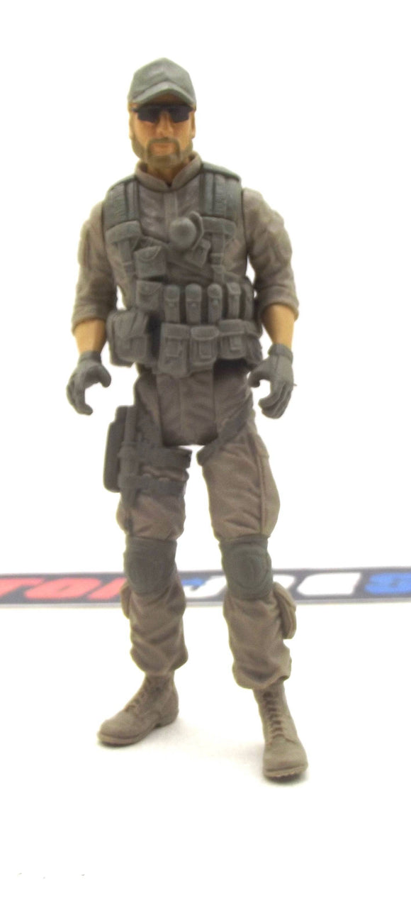 2012 RETALIATION G.I. JOE CLUTCH V5 BRAVO VEHICLE TREAD RIPPER TANK DRIVER LOOSE 100% COMPLETE
