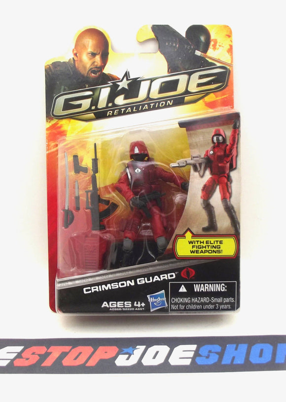 2013 RETALIATION G.I. JOE COBRA CRIMSON GUARD V16 NEW SEALED