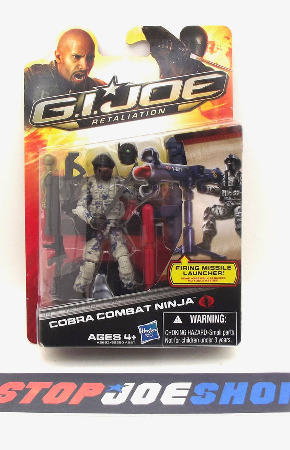 2013 RETALIATION G.I. JOE COBRA COMBAT NINJA V1 NEW SEALED
