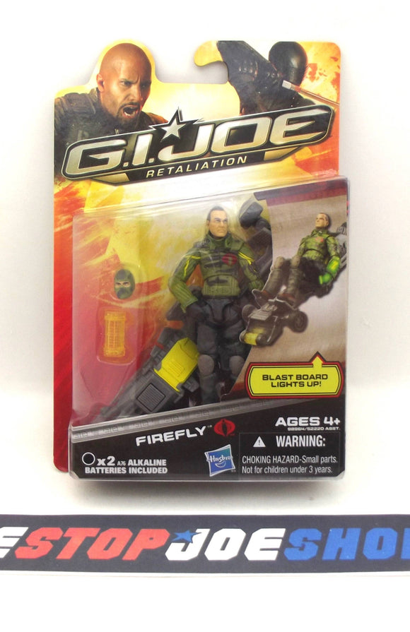 2013 RETALIATION G.I. JOE COBRA FIREFLY V25 NEW SEALED