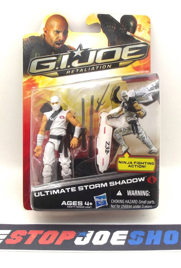 2013 RETALIATION G.I. JOE COBRA STORM SHADOW V49 ULTIMATE NEW SEALED